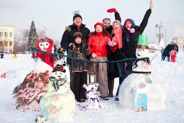 Люди в городе: «Арт-битва снеговиков». Изображение № 38.