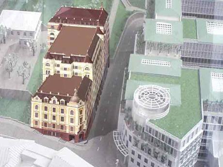 Проект гостиницы на Андреевском спуске. Изображение № 1.