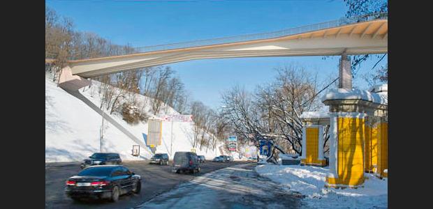 Проект моста через Владимирский спуск. Изображение № 4.
