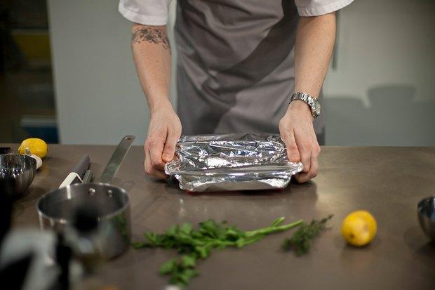 Шеф дома: Ягненок, хумус иоблепиховый десерт шефа «Стрелки». Изображение № 26.