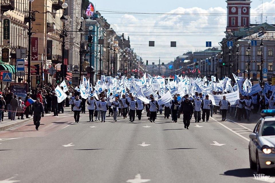 Фоторепортаж: Первомайская демонстрация. Изображение №1.