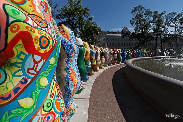 В Александровском саду выставили медведей United Buddy Bears. Изображение № 5.