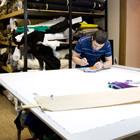 6 офисов брендов одежды: Adidas, Denis Simachev, Fortytwo, Kira Plastinina, Cara &Co, Катя Dobrяkova. Изображение № 2.