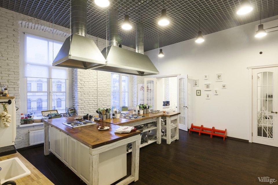 Интерьер недели (Петербург): Кулинарная школа «Красиво подано». Изображение № 2.