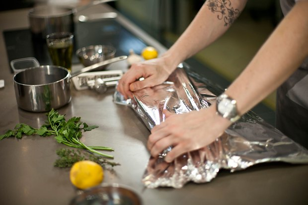 Шеф дома: Ягненок, хумус иоблепиховый десерт шефа «Стрелки». Изображение № 25.