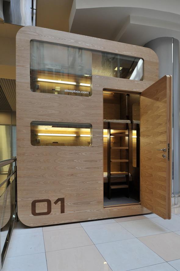 В Шереметьеве установят «коробки для сна». Изображение № 5.
