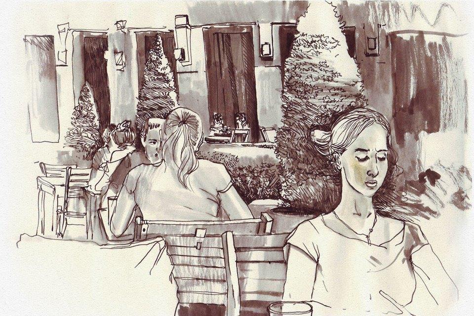 Клуб рисовальщиков: «Белая площадь». Изображение № 4.