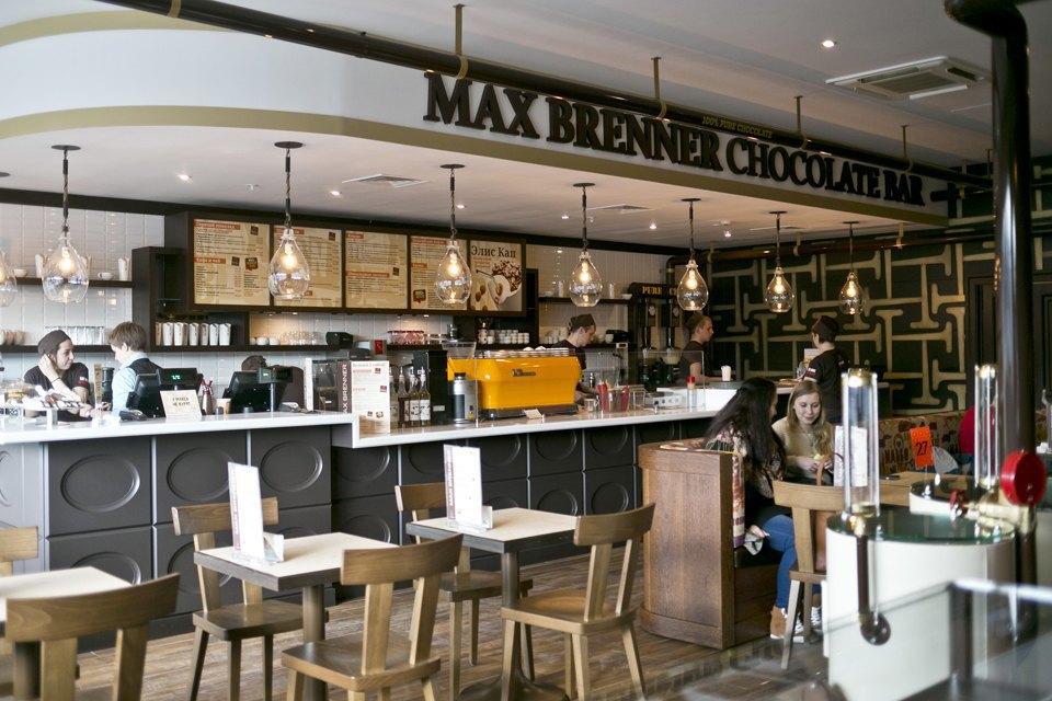Шоколадный бар MaxBrenner. Изображение № 1.