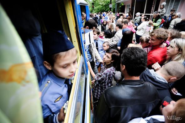 Фоторепортаж: В Киеве открылся сезон на детской железной дороге. Зображення № 36.