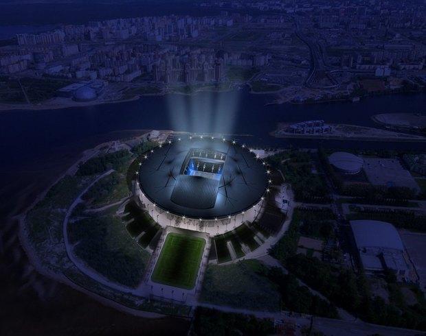 Опубликованы финальные рендеры строящегося стадиона наКрестовском. Изображение № 2.