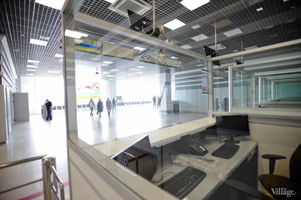 Фоторепортаж: Новый терминал аэропорта Киев — за день до открытия. Зображення № 24.