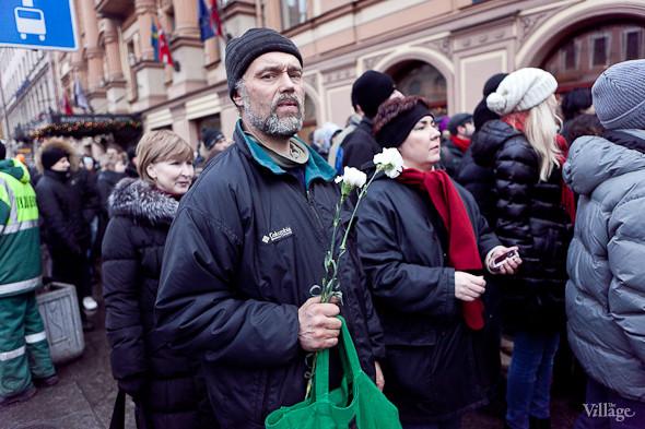Фоторепортаж: Митинг против фальсификации выборов в Петербурге. Изображение № 6.
