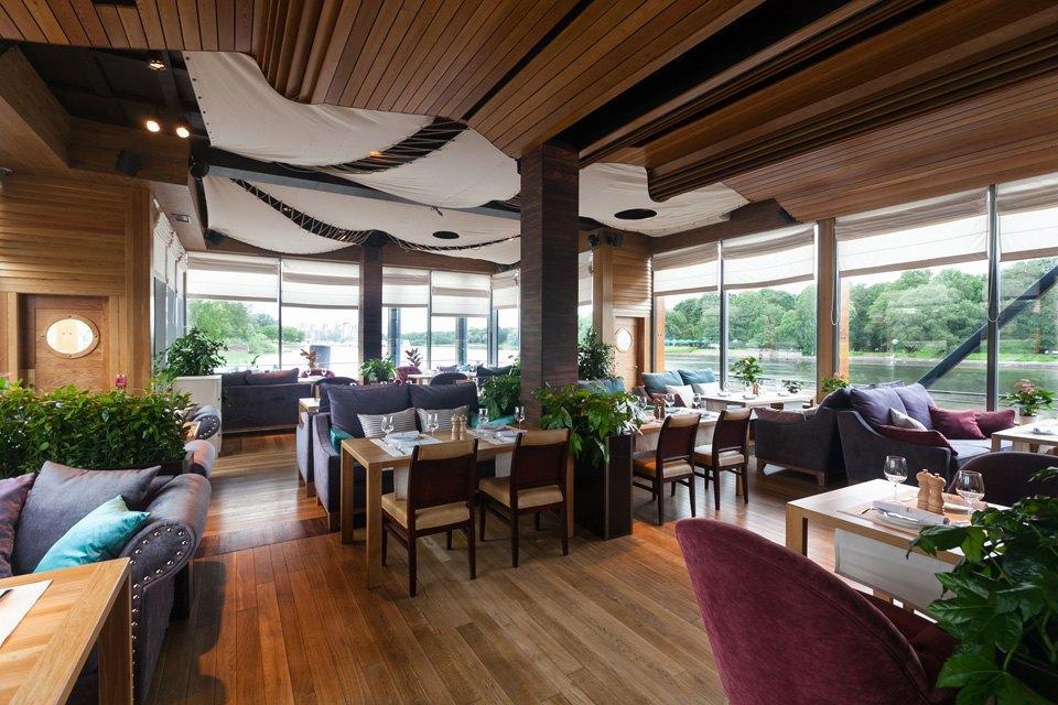 Ресторан на воде «Елагин» . Изображение № 2.