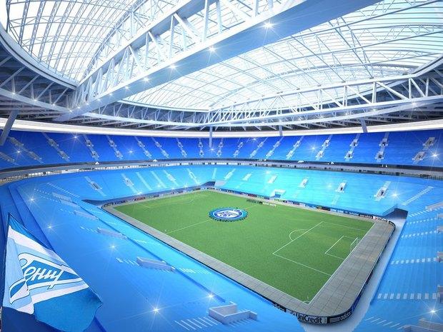 Опубликованы финальные рендеры строящегося стадиона наКрестовском. Изображение № 8.
