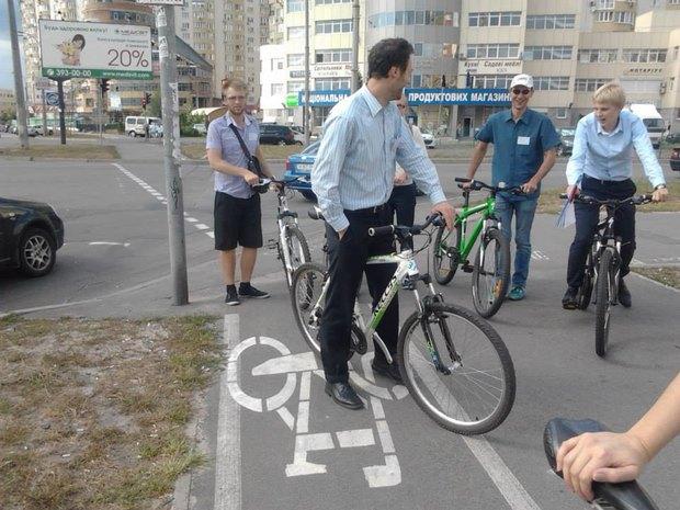Для Дарницкого района спроектируют новые велодорожки. Зображення № 1.
