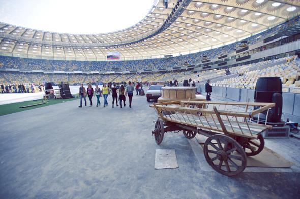 Выходит на арену: Как реконструировали стадион «Олимпийский». Зображення № 7.
