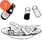 Рецепты шефов: Салат из овощей на гриле с ванильной заправкой. Изображение № 5.