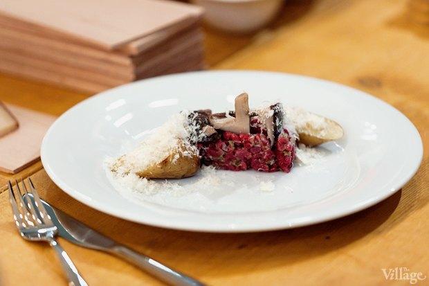 Тар тар из говядины с картофелем — 290 рублей. Изображение № 8.