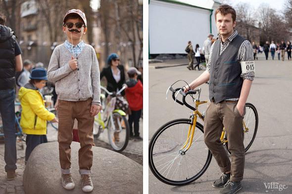 С твидом на город: Участники первого «Ретрокруиза»— о своей одежде и велосипедах. Изображение № 8.