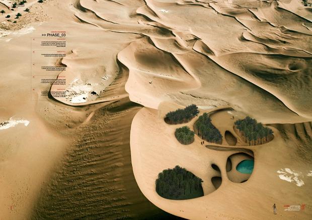 Дизайн от природы: Дом-термитник, жилая дюна и оранжереи в пустыне. Изображение № 11.
