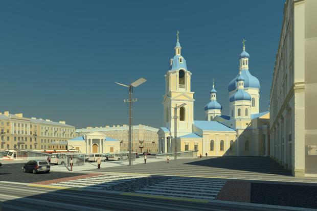 Проект преобразования Сенной площади. Изображение № 5.