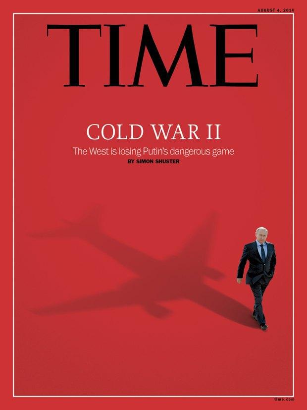 Владимир Путин вжурнале Time. Изображение № 1.