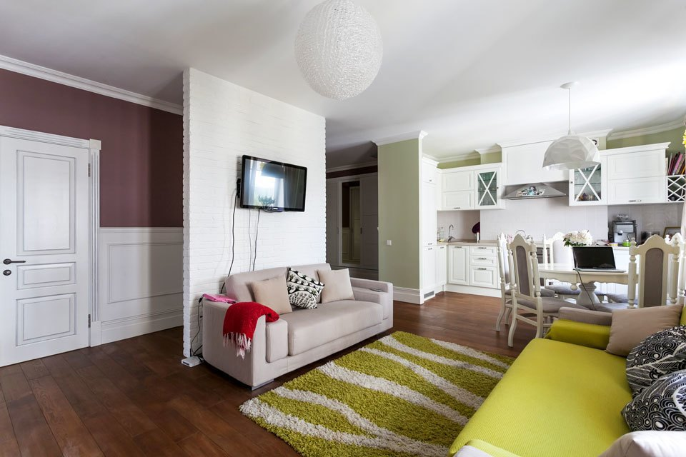 Двухкомнатная квартира с видом на лес. Изображение № 10.