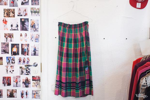 Винтажная юбка — 800 рублей. Изображение № 126.