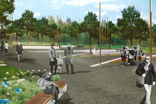 LDA Design представили проекты благоустройства парка «Садовники» и Сиреневого сада. Изображение № 2.