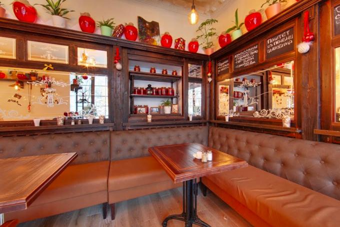 На Арбате открылся ресторан одесской сети «Компот». Изображение № 4.