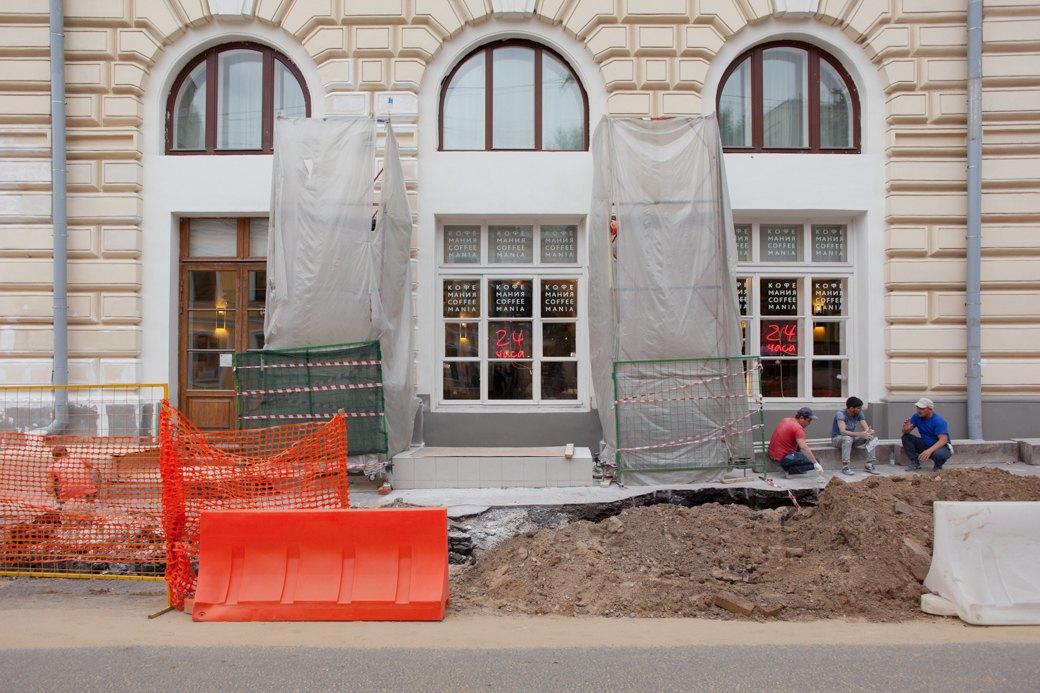 Её раскопали: Пешеходные улицы Москвы за месяц до открытия. Изображение № 25.