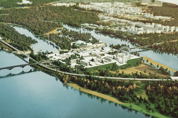 На бумаге: 8 нереализованных архитектурных проектов в Киеве. Зображення № 7.