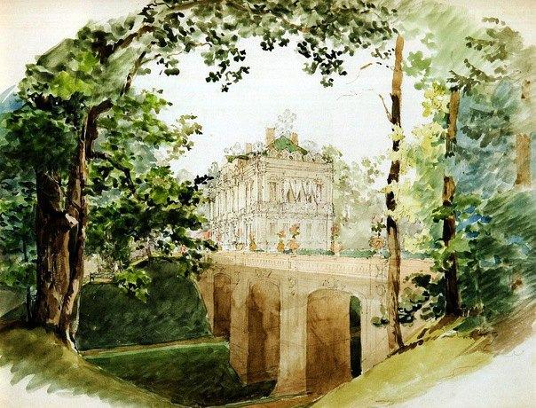 В Петергофе появится ещё один дворцово-парковый ансамбль. Изображение № 2.