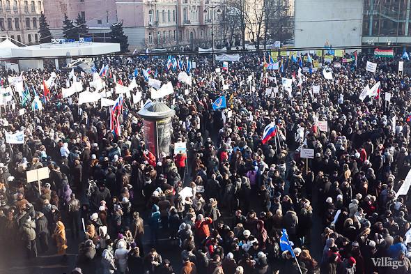 Фоторепортаж: Митинг в поддержку Путина в Петербурге. Изображение № 28.