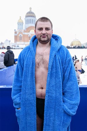 Люди в городе: Крещенские купания. Зображення № 11.