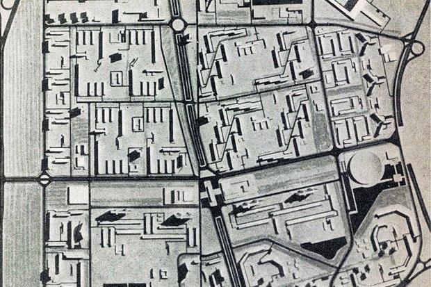 Схема расположения зданий. Изображение № 16.