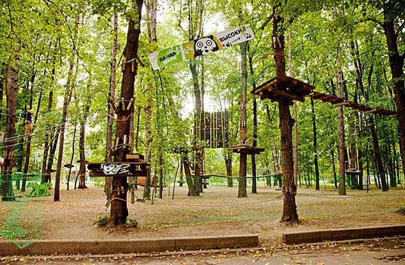 Детский маршрут «Парка Панды» — 150 рублей, а самый высокий — 300 рублей. Изображение № 55.