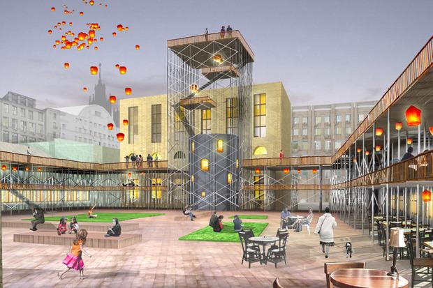 Что делать с электростанцией на Балчуге: 5 проектов студентов МАРХИ. Изображение №1.