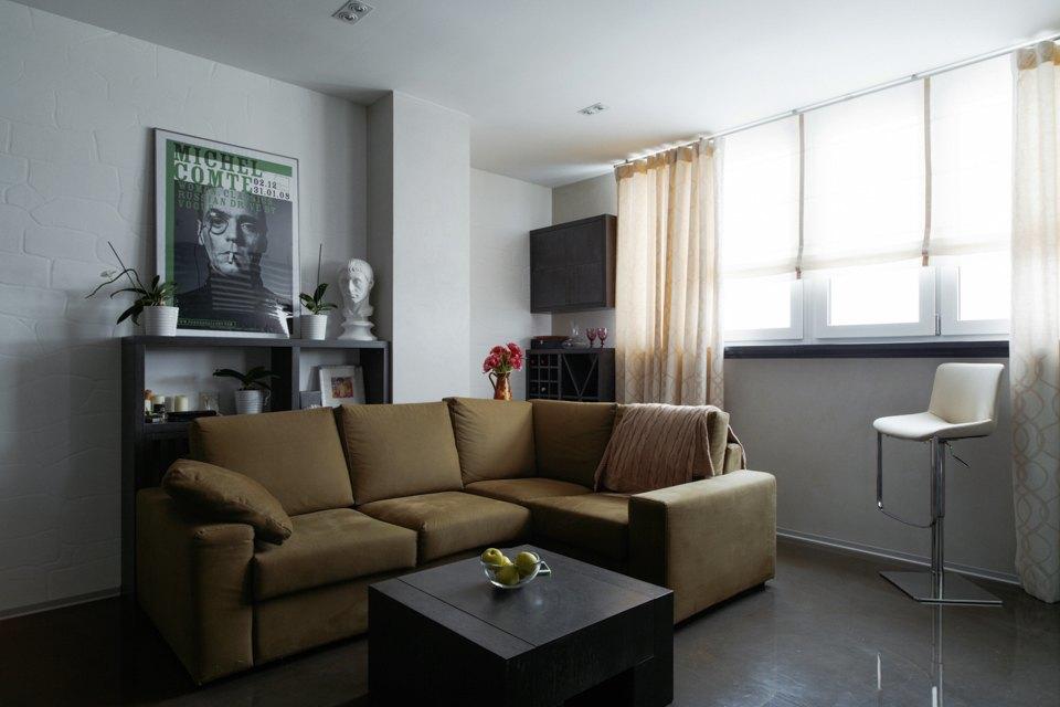 Трёхкомнатная квартира сэклектичным интерьером. Изображение № 3.
