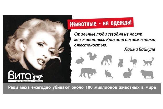 В Петербурге появилась социальная реклама за права животных. Изображение № 1.