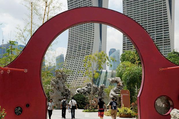Идеи для города: Механический лес вСингапуре. Изображение № 25.