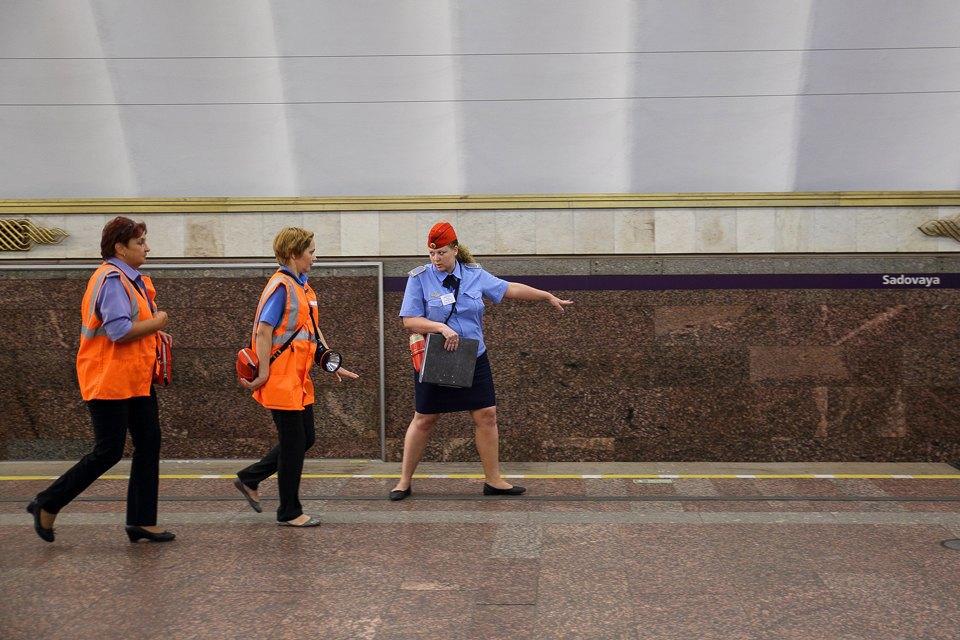 Учения в петербургском метро по сценарию московской катастрофы. Изображение № 12.