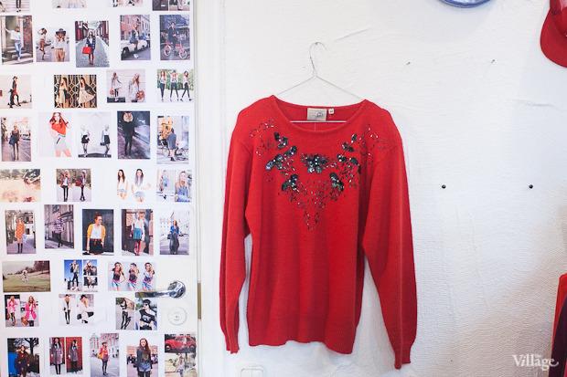 Винтажный свитер — 300 рублей. Изображение № 124.