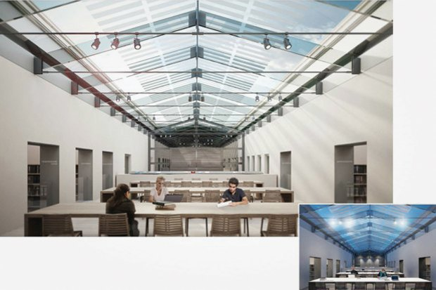Проект недели: Как перестроят Европейский университет. Изображение № 7.