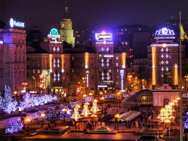 В декабре центр Киева украсят иллюминацией. Зображення № 3.