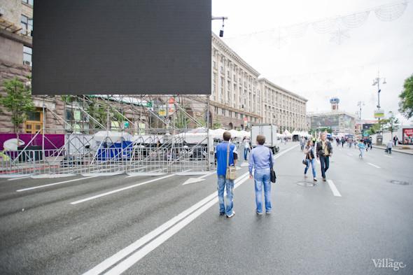 Фоторепортаж: Улица футбола — фан-зона на Крещатике. Зображення № 8.