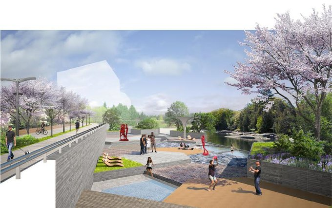 Наберегу Охты построят парк для семейного отдыха . Изображение № 2.