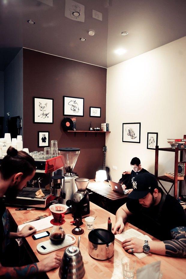 Кофейня Impress переехала вКовенский переулок. Изображение № 9.