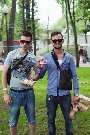 Люди в городе: Посетители фестиваля «Праздник Еды». Изображение № 7.