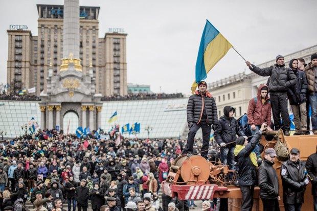 Курс — евро: Как уличные протесты изменили Киев. Изображение № 9.